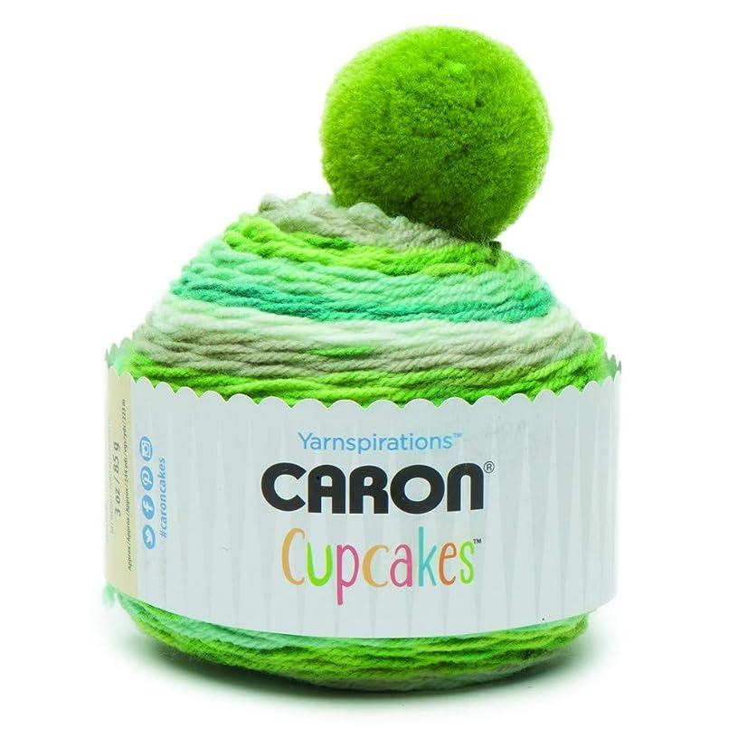 Caron Cupcakes Crochet Beanie (Mint Smoothie)