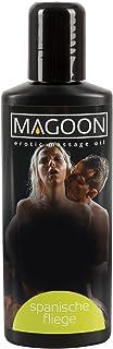 Magoon Massageolie Spaanse vlinderdas 100 ml - afrodiserende massage-olie voor hem en haar, hoogwaardige olie met glijverm...