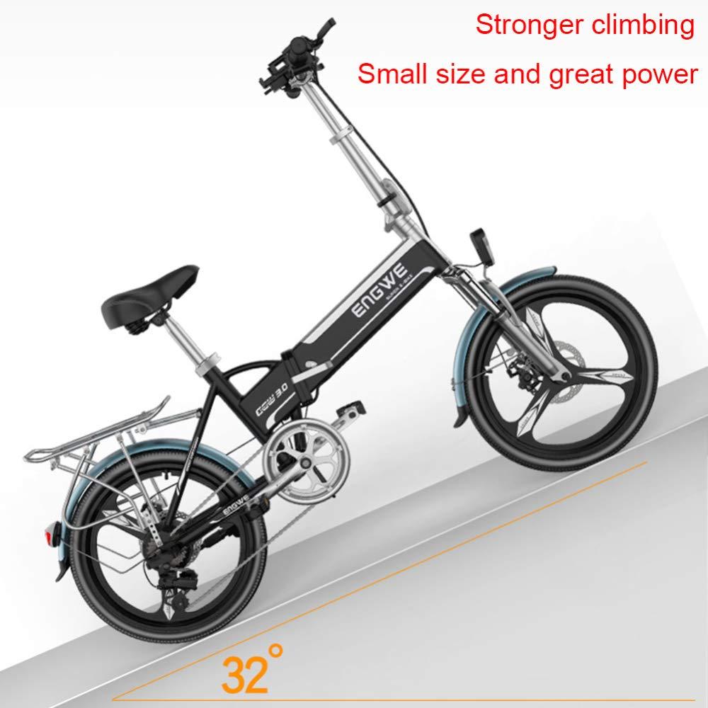 CHEER.COM Bicicletas Eléctricas 20 Pulgadas 400 W Bicicleta ...