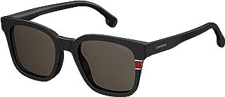 نظارات شمسية كاريرا للرجال 164/ اس مربعة, اللون اسود, 51 ملم