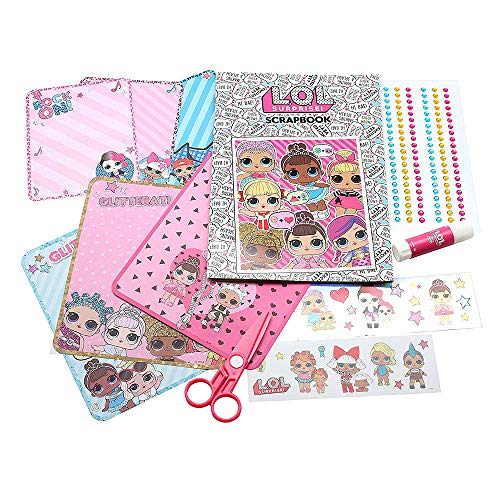 L.O.L. Surprise!- Album recortables de LOL Surprise, Multicolor, única (New Import 1)