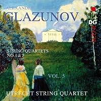String Quartets 5 by GLAZUNOV (2012-03-26)