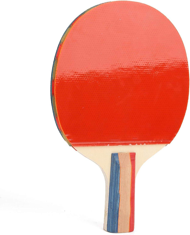Aoer Paleta de Tenis de Mesa, Paleta de práctica de Tenis de Mesa de Goma esponjosa Azul con Bolsa para Juegos de Tenis de Mesa de Ocio para Juegos de Ocio