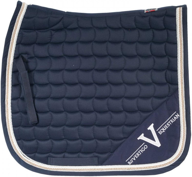 B greenigo Lexington Coolmax Quick Dry Lining Dressage Saddle Pad Navy Blazer Full