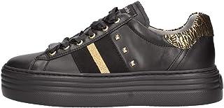 Sneaker NeroGiardini I013370D 707 I013370 3370 Scarpe Donna in Pelle Bianca