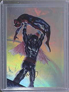 Spider-Man/Morbius Ungraded COMC Near Mint-Mint+ (Trading Card) 2017 Fleer Ultra Spider-Man - Holoblast Holograms #HH19