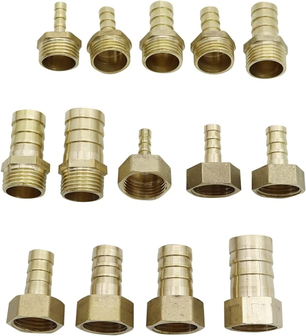 Leakproof Hose Fittings 6-19mm Barb Pipe 2