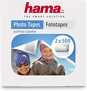 Hama Distributeurs Pastilles photo (1000 pastilles, autocollantes double-face, distributeur pratique, sans acide, sans sol...