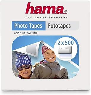 Hama Distributeurs Pastilles photo (1000 pastilles, autocollantes double-face, distributeur pratique, sans acide, sans sol...