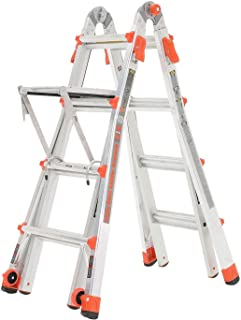 Little Giant Ladder Systems 17' Aluminum Multi Position Ladder w/Work Platform