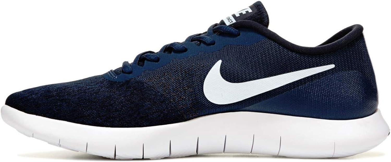 Nike herrar herrar herrar Flex Contact skor (10, Midnight Navy  vit -svart)  första gången svara