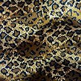 Barcelonetta | Tela de piel con estampado animal | Tela de velboa | Piel sintética | pelo corto | Textura animal | 62 pulgadas de ancho | Manualidades, artes y decoración, tapicería de muebles,...