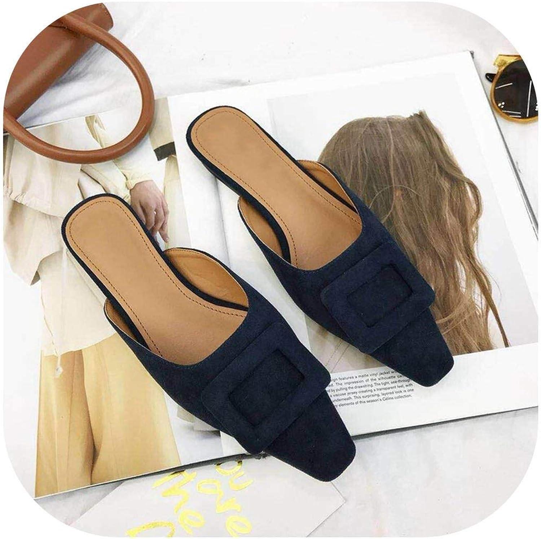 Flip Flops Slides Slip On Casual shoes Elegant Sandals Ladies shoes Female Flip Flops,Black,5