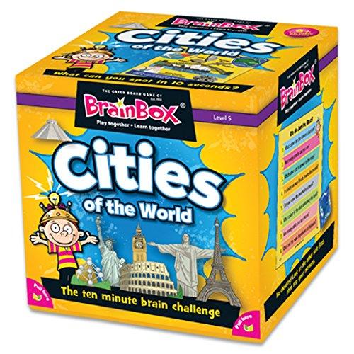 ブレインボックス 英語 カードゲーム 世界の大都市編 90044