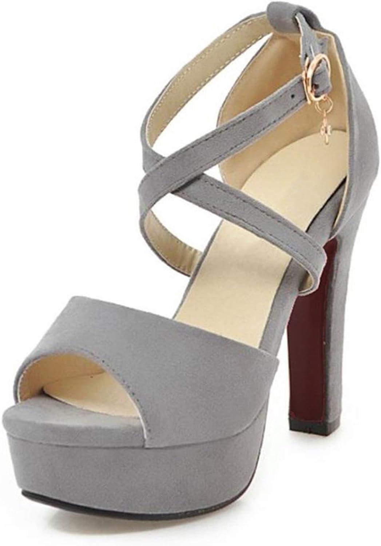 Good-memories 5 colors Size 32-43 Women High Heel Sandals Buckle Open Toe Platform Spike Heels shoes Sexy Sandals Wedding Footwear