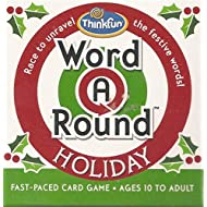 Word A Round Holiday Fast-Paced Card Game by Thinkfun