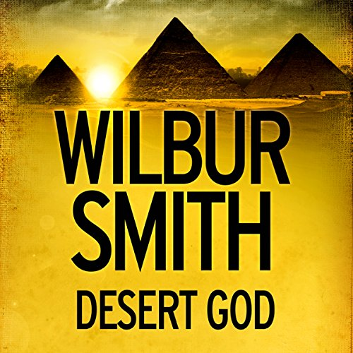 Desert God audiobook cover art