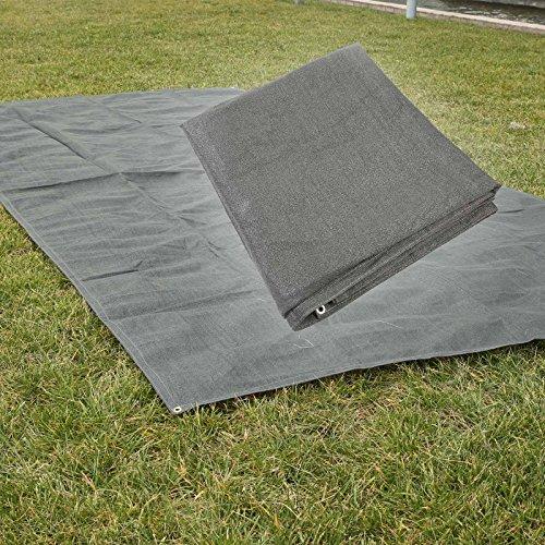 Wiltec Campingteppich 500x250cm Vorzeltteppich Zeltteppich Vorzeltboden Vorzelt Camping