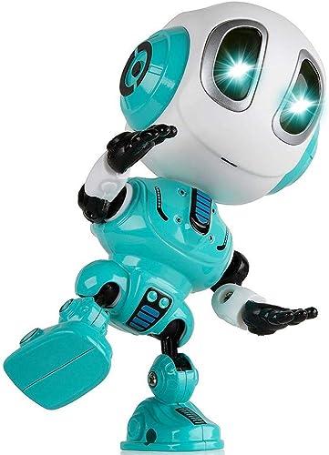 primera reputación de los clientes primero ZHANG Aleación Robot Juguete diálogo Inteligente Niño Niño educación temprana temprana temprana multifunción grabación repetición Rompecabezas (Color   azul)  El nuevo outlet de marcas online.