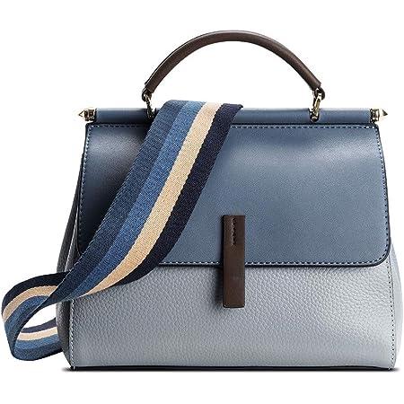 Genuine Leather Crossbody Bags for Women, Ladies Handbag Messenger Shoulder Bag