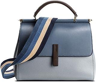 Umhängetasche aus echtem Leder für Damen, Damen-Handtasche, Kuriertasche, Schultertasche