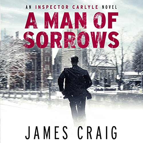 A Man of Sorrows audiobook cover art