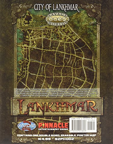 Lankhmar Map Pack: City of Lankhmar and World of Nehwon (S2P11002)