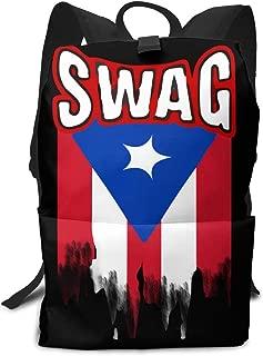 Louise Morrison Puerto Rican Swag Boys Girls Backpack Teens Bookbag for School Or Travel