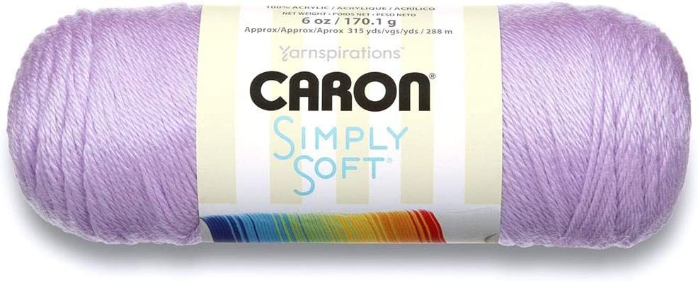 Branded goods Caron Simply Luxury goods Soft Yarn Orchid