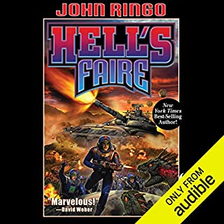 Hell's Faire     Legacy of the Aldenata              By:                                                                                                                                 John Ringo                               Narrated by:                                                                                                                                 Marc Vietor                      Length: 10 hrs and 52 mins     1,135 ratings     Overall 4.5