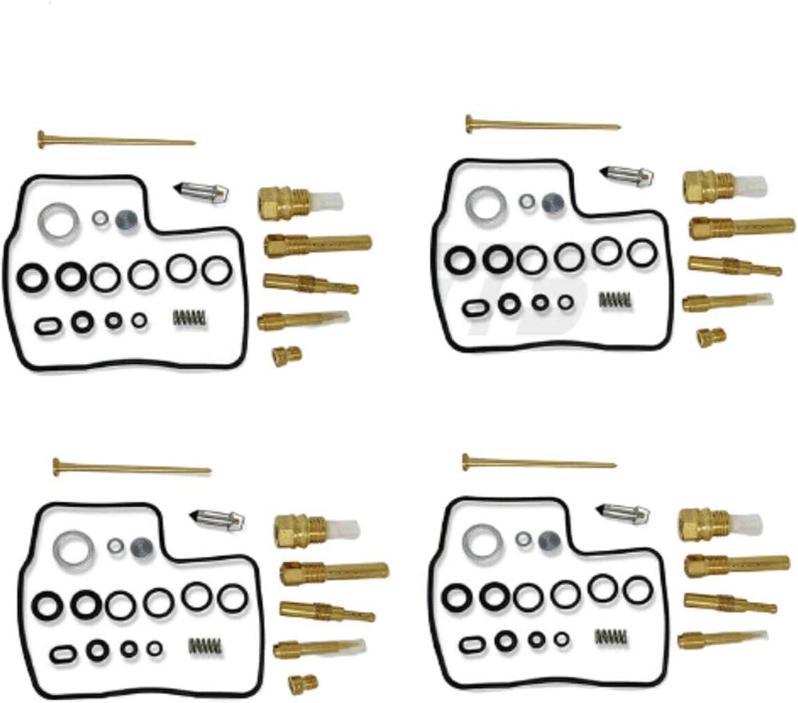 4 Set Carburetor Rebuild Kit Fit H o n OFFicial mail order 750 700 85 da 84 VT Max 42% OFF 86 83
