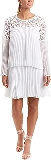 BCBGMAXAZRIA Women's Darryl Lace-Trimmed A-line Dress