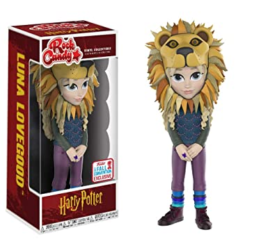 Funko Rock Candy NYCC Exclusive, Happy Potter Luna Lovegood, Limited Edition Fall New York Comic Con Convention Exclusive