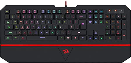 Gaming Keyboard With Wrist Rest