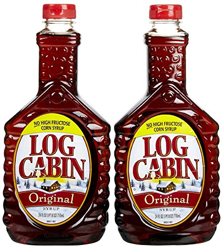 Log Cabin Original Syrup 24 Ounce 2 Pack