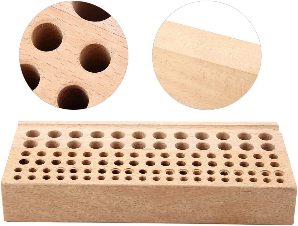 Leather Craft Max 47% OFF Tool Rack Holes low-pricing Wooden 98 Rec