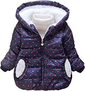 49d7021d75 Lurryly❤Girls Boys Kids Winter Warm Thick Coat Jacket Hoodie Hooded  Outerwear Clothes 1-