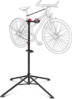 Relaxdays - Soporte Caballete Plegable para Bicicletas,