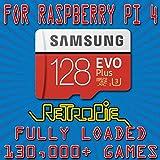 Retropie 128GB 130,000+ Retro Classics for Raspberry Pi 4