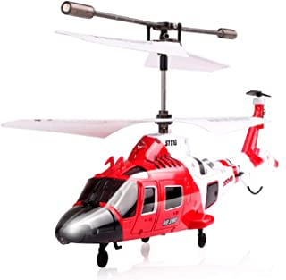 POCO DIVO Coast Guard Rescue Helicopter RC Flight Infrared 3CH Gyro Marine Aircraft Model S111G