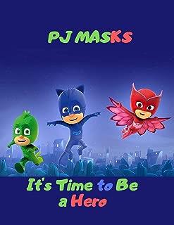 PJ Masks Figures: Blank Lined Superhero Gift Journal for Comics & Adventure Fans