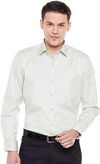 Lamode Men's Solid Off White Formal Shirt997