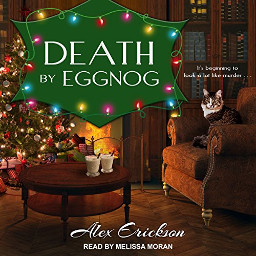Death by Eggnog audiobook cover art