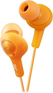 JVC HAFX5D Gumy Plus Inner Ear Headphones (Orange)