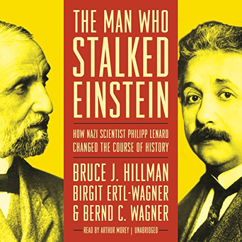 The Man Who Stalked Einstein audiobook cover art
