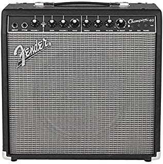 Best Fender Champion 40 - 40-Watt Electric Guitar Amplifier Review