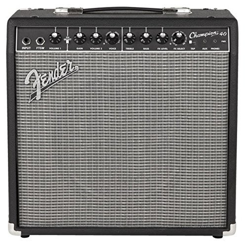 Fender 233-0306-900 - Amplificador de guitarra combo Champion de 40 W