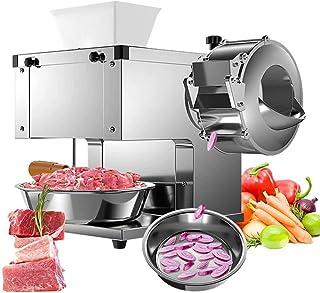 Machine de coupe-viande, coupe-légumes électrique en acier inoxydable, coupe-légumes, coupe-bande, coupe, coupe alimentair...