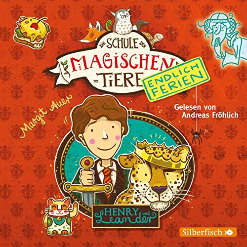 Die Schule der magischen Tiere - Endlich Ferien 3: Henry und Leander: 2 CDs (3)