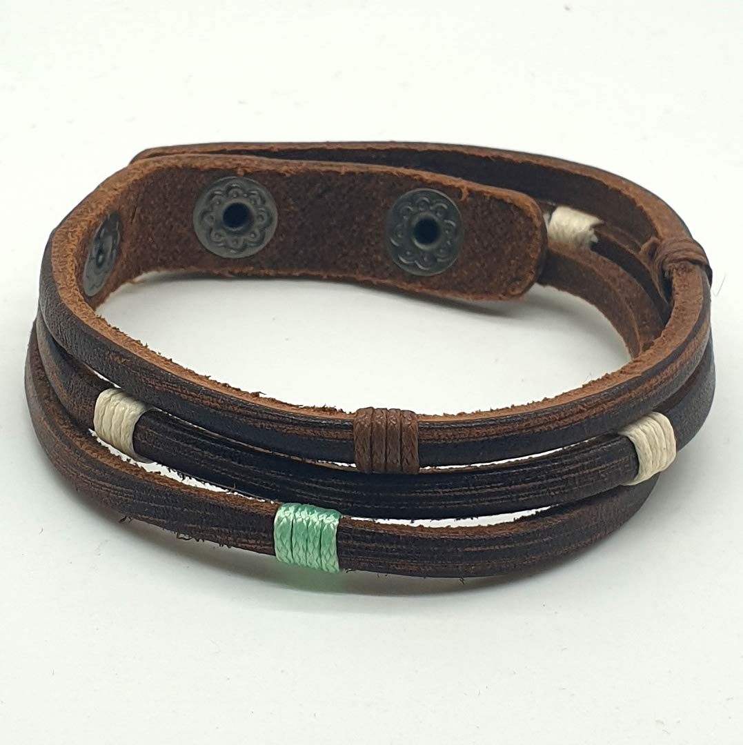 New product type BARBARI Jewelry Leather Sales for sale Bracelet for Men Gi Handmade and Woman